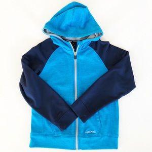 Head Zip up Sweatshirt